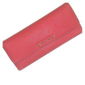 e70539f91f82b1 Women's Michael Kors Red Travel Zip Wallet on Poshmark
